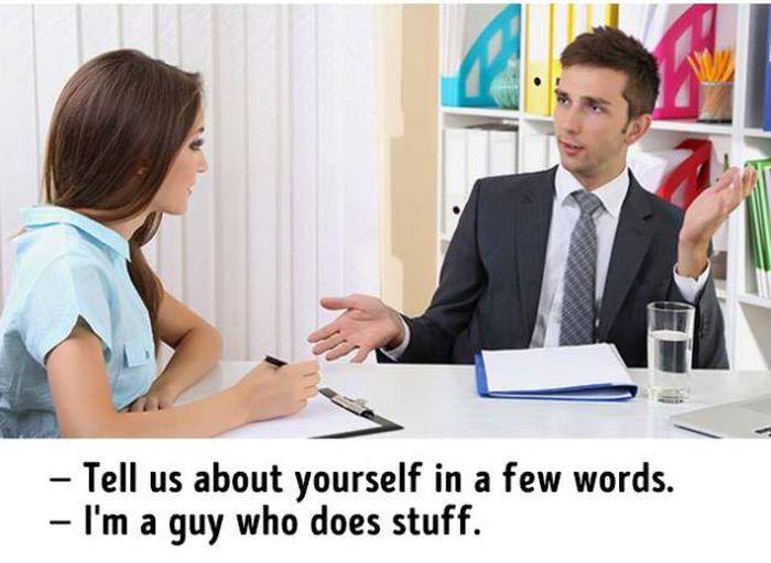 Hilarious Truths About Job Interviews (11 pics)