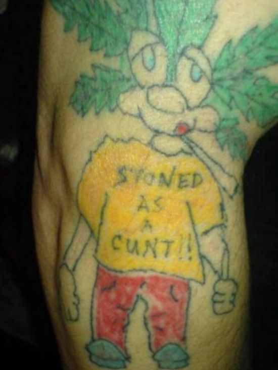 The Skin Is Only A Good Canvas If The Artist Doesn't Suck (22 pics)