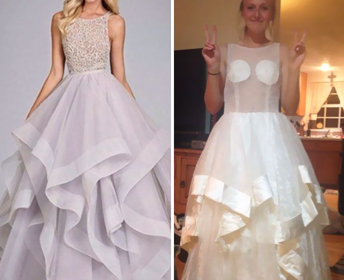 Miserable Teens Who Wish They Didn't Buy Their Prom Dress Online (30 pics)