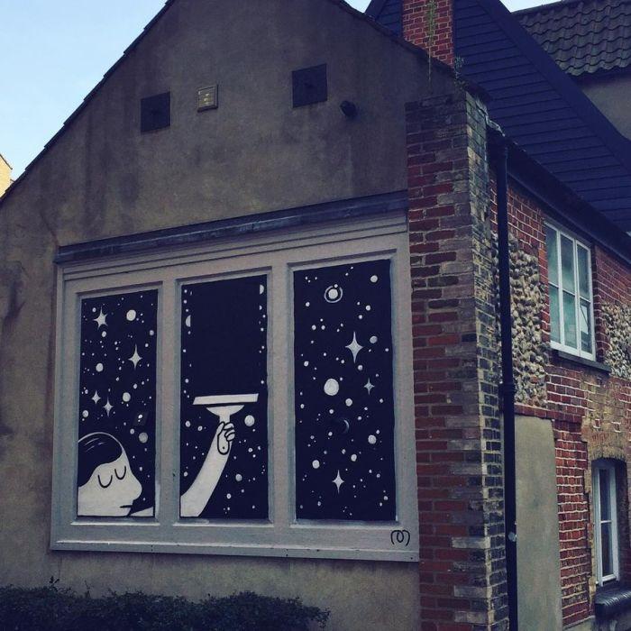 Street Art That's On The Verge Of Hooliganism (18 pics)