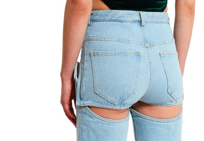 Detachable Cut Out Jeans Really Are The Worst (5 pics)