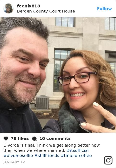 Divorce Selfies Are A Thing Now And They're Awesome (25 pics)