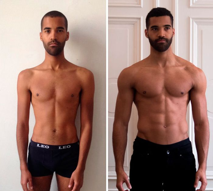 Before And After Fitness Transformations Show People Who Got Ripped (26 pics)