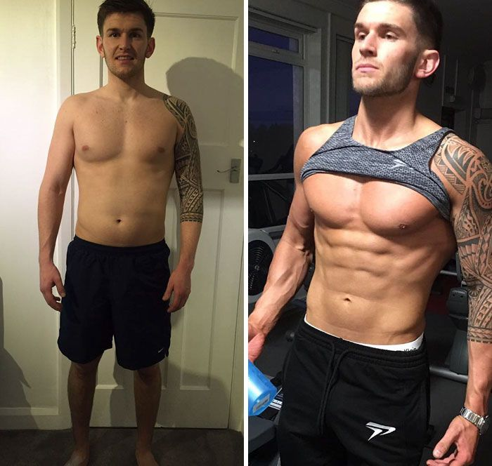 Before And After Fitness Transformations Show People Who