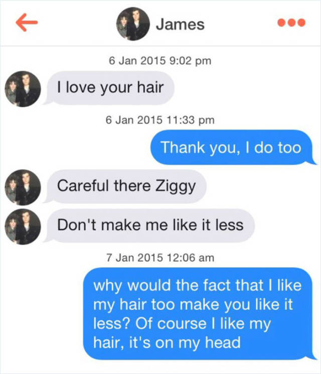 How Men React When Women Simply Accept Their Compliments (14 pics)
