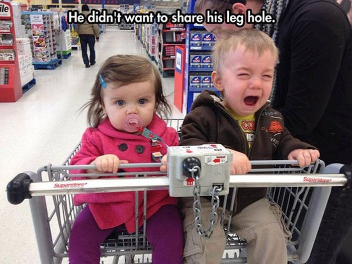 Kids With Really Good Reasons To Cry (18 pics)