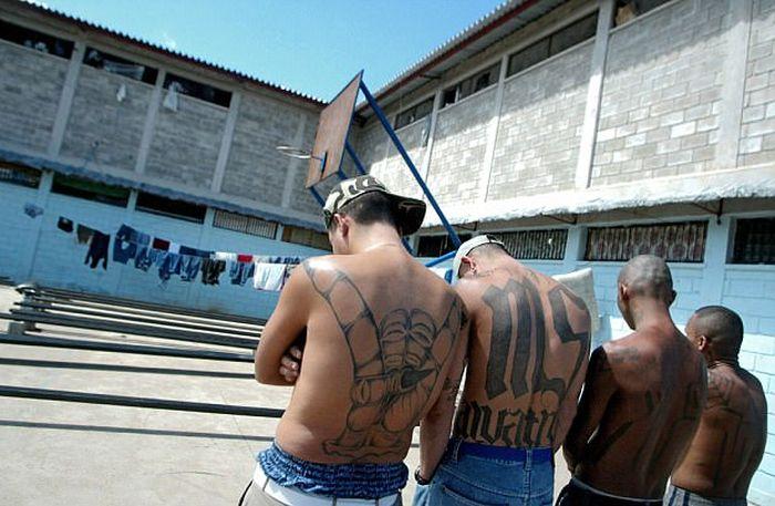 Gang Members Play Video Games In This Luxury Honduras Prison (7 pics)
