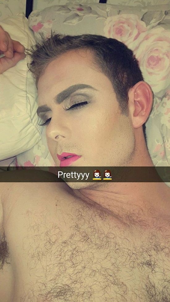 Girlfriend Gives Guy A Makeover After He Sleeps Through Their Date (8 pics + video)