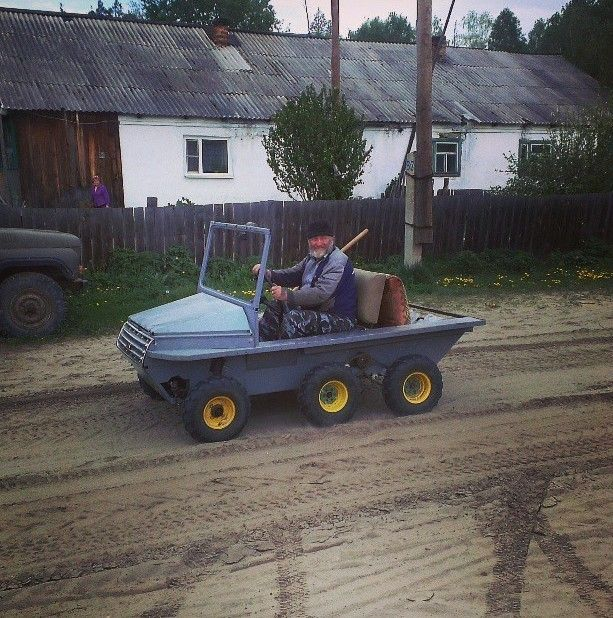 Authentic Photos Of Russian Rednecks (18 pics)