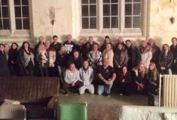 Ghost Girl Spotted In Haunting Photo From Abandoned Asylum (2 pics)