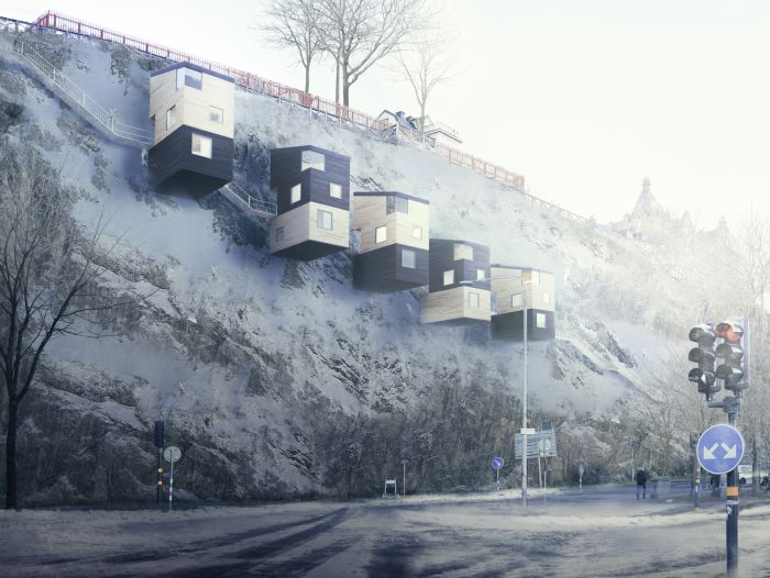 Treehouses Are Old News, Cliffhouses Are The Future (5 pics)