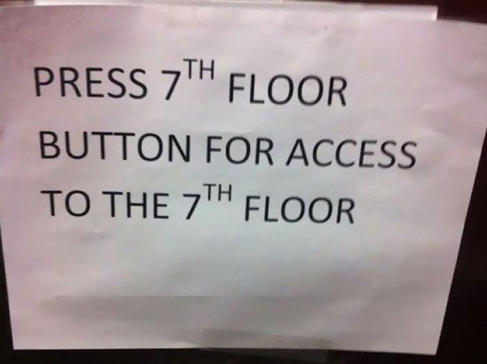 Signs That Make Me Fear For Humanity (28 pics)