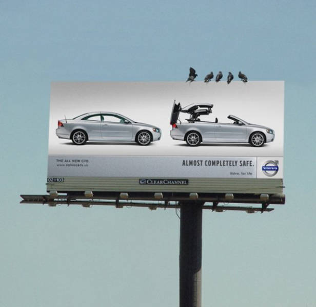 Car Ads Are The Most Creative Ads On The Market (21 pics)