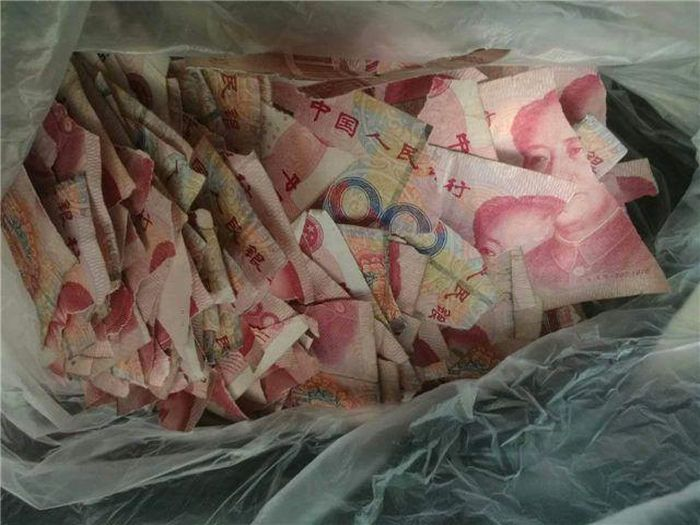 Chinese Boy Gives His Parents An Expensive Puzzle (3 pics)