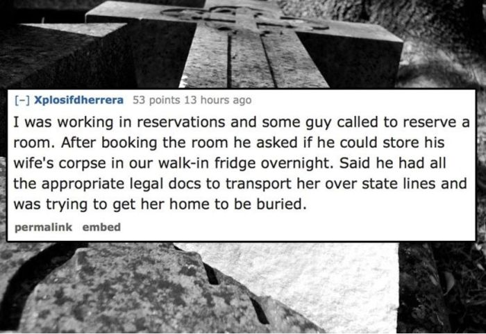 Hotel Employees Share The Weirdest Things They've Seen Guests Do (13 pics)