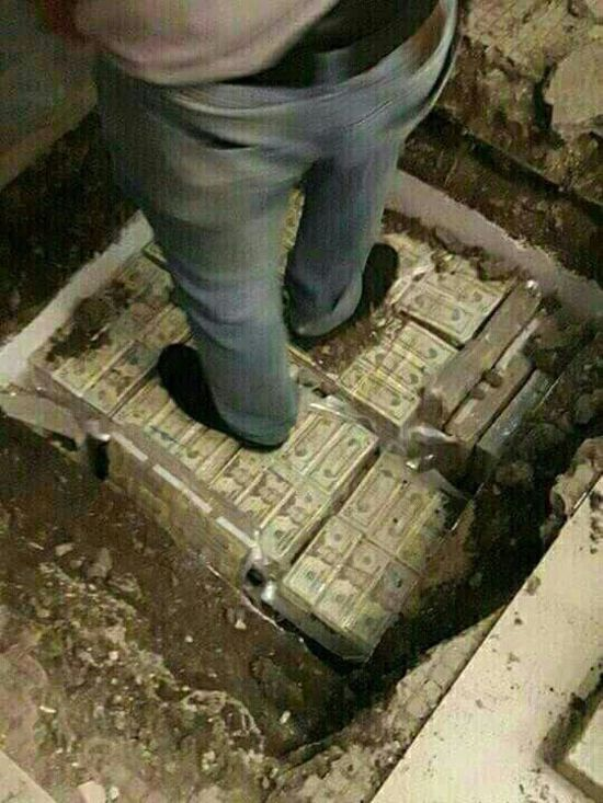 Millions Of Dollars Found Hidden In Ecuador (5 pics)