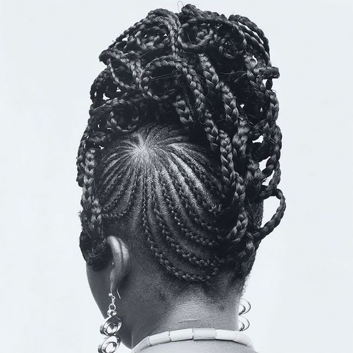 Intricate Hairstyles Created Half A Century Ago (20 pics)