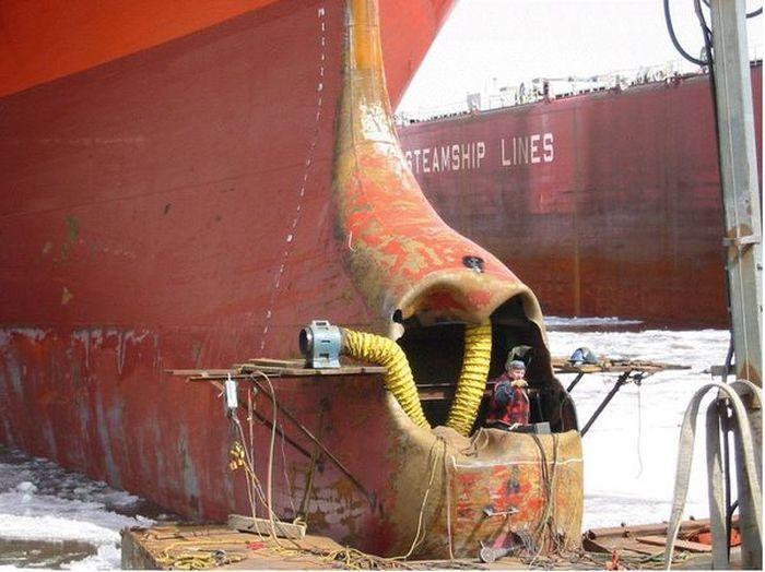 Brutal Photos Of Shipwrecks (24 pics)