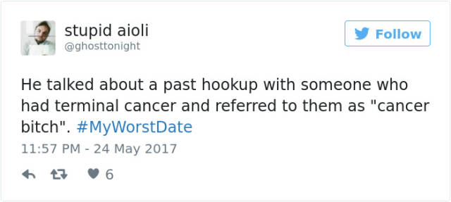 Twitter Users Share Stories About Their Worst Dates (50 pics)