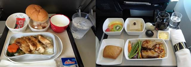 The Food In Business Class Is Twice As Good As Economy Class (14 pics)