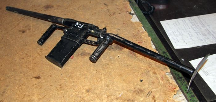 Homemade Weapons That Have Been Seized By The Russian Police (14 pics)