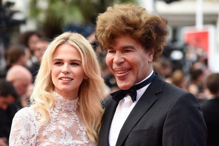 TV Presenter Igor Bogdanoff Walks The Red Carpet At Cannes (5 pics)