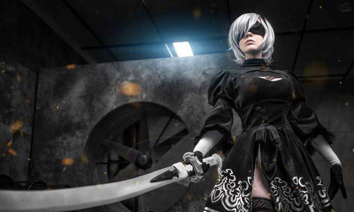 Stunning Nier: Automata Cosplay (17 pics)