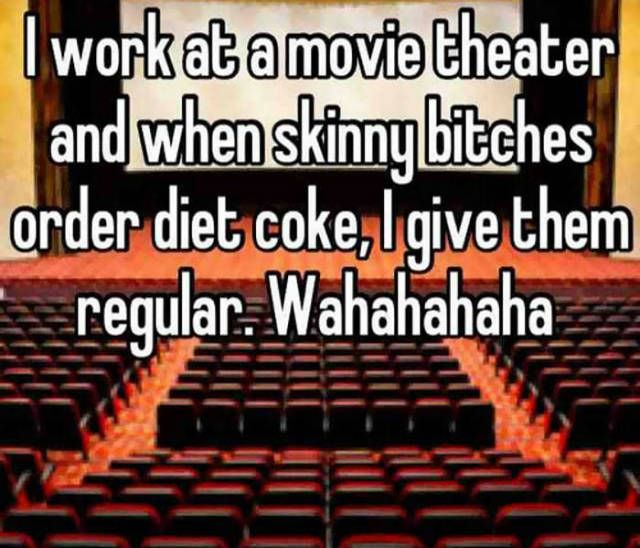 Cinema Employee Gets Called Out For Giving A Diet Coke To A Diabetic (14 pics)