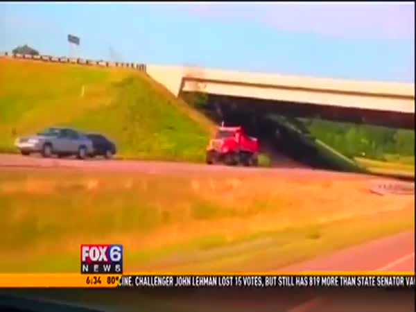 State Under Fire After Car Goes Airborne On Buckled Highway