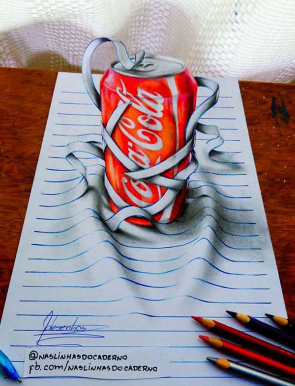 This 17-Year-Old Creates Incredible 3D Art (10 pics)