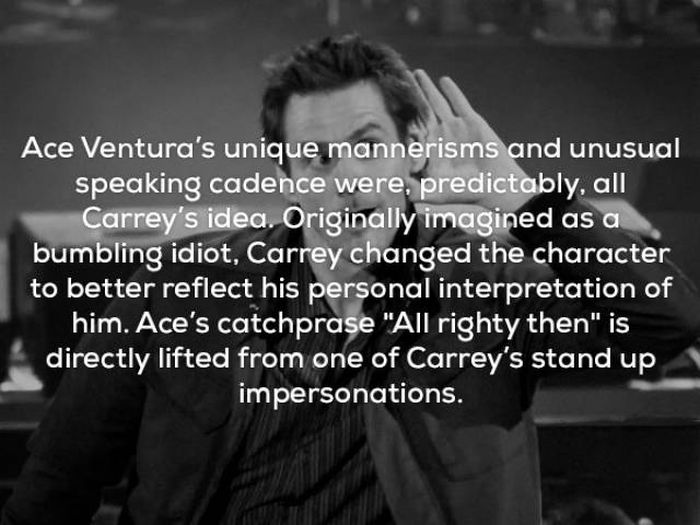 Awesome Facts About Ace Ventura (25 pics)