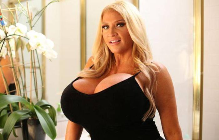 Being A Mormon Couldn't Stop Her From Becoming A Busty Model (17 pics)