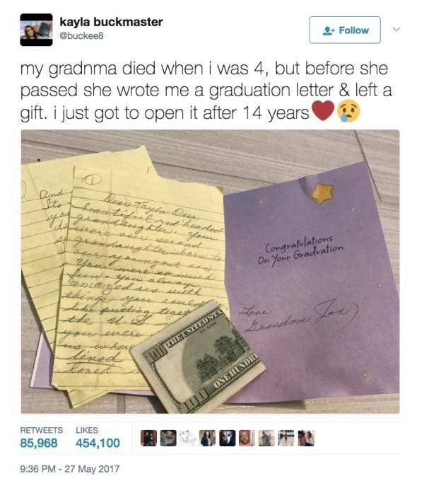 She Had To Wait 14 Years To Get This Gift From Her Late Grandmother (9 pics)