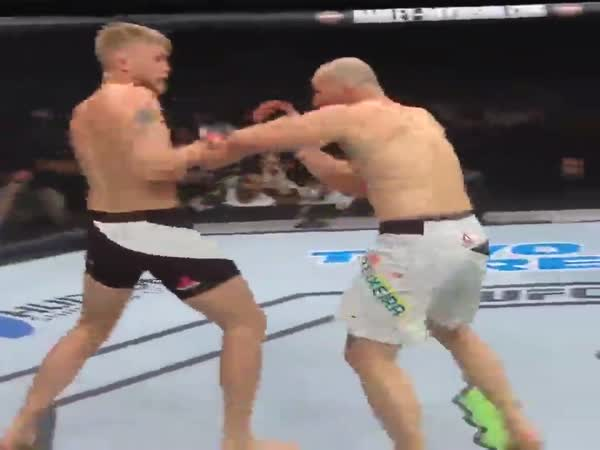 Fight Ends With A Triple Uppercut Combo