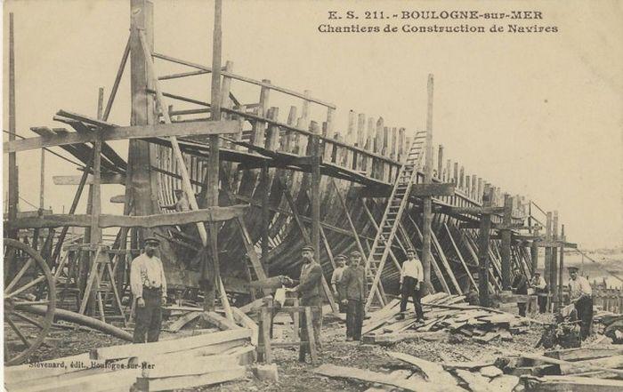Historical Photos Of Wooden Ships (27 pics)