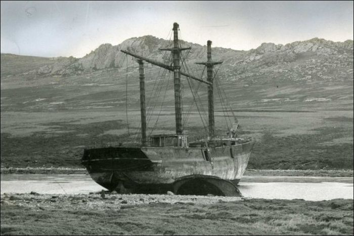 Historical Photos Of Wooden Ships (27 pics)