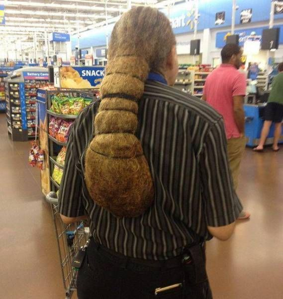 When You Never Cut Or Wash Your Hair This Is What Happens (9 pics)