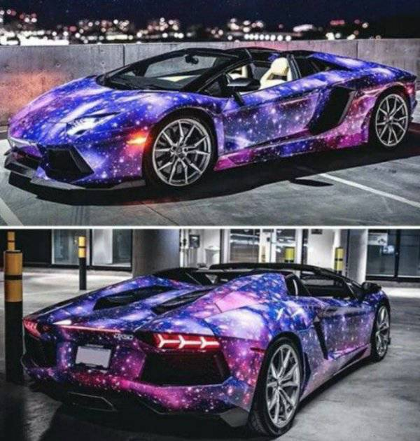 Expensive Cars Can Be Ruined Or Improved With Paint Jobs (49 pics)