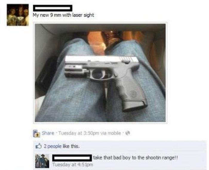 Really Embarrassing Gun Fail (2 pics)