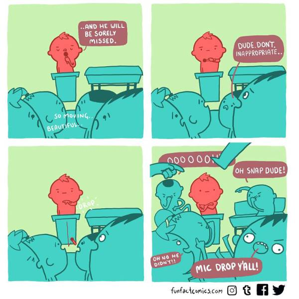 Fun Fact Comics That Will Surprise You With Unexpected Endings (48 pics)