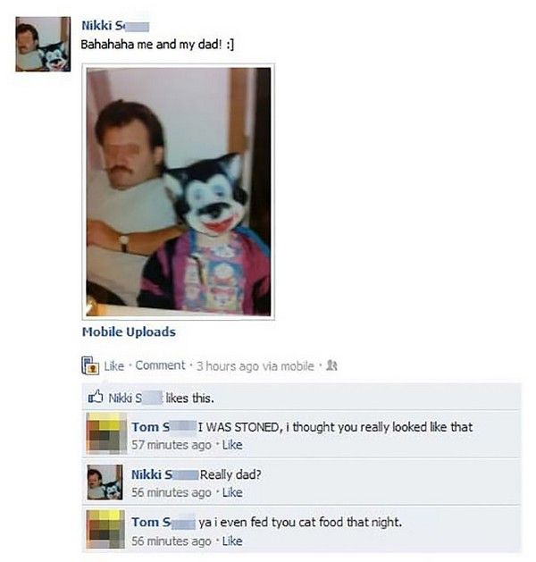 People Who Got Owned By Their Parents On Facebook (20 pics)