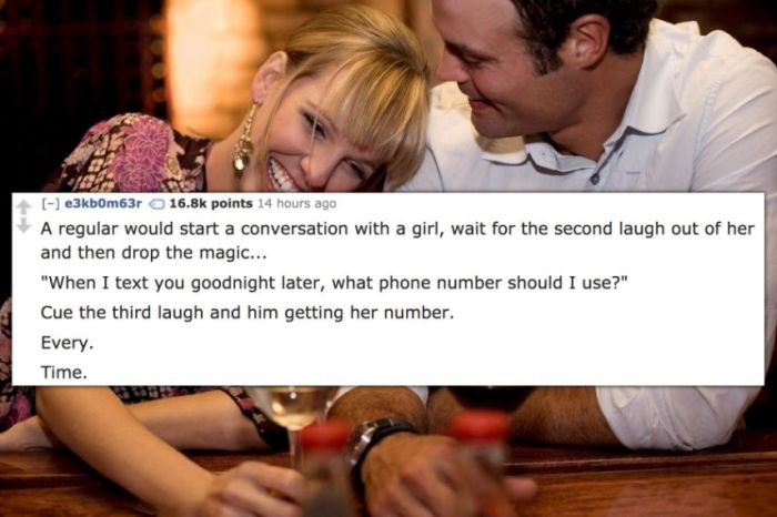 15 Of The Smoothest Pick-Ups Bartenders Have Ever Witnessed (15 pics)