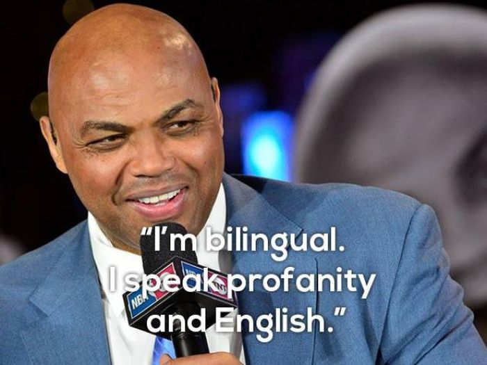Charles Barkley Is Definitely Good At Saying Wise Words (13 pics)