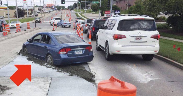 Driver Fined $10,000 For Trying To Avoid Traffic (3 pics)