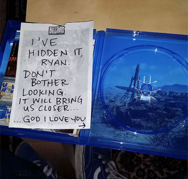 Wife Plays A Ridiculous Prank On Her Gamer Husband (11 pics)