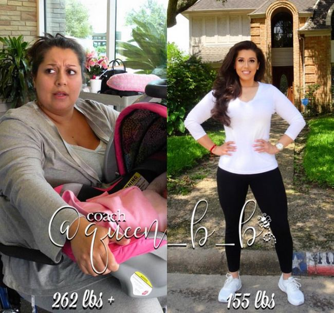 Mother Gets Revenge On Her Husband By Dropping Weight (4 pics)