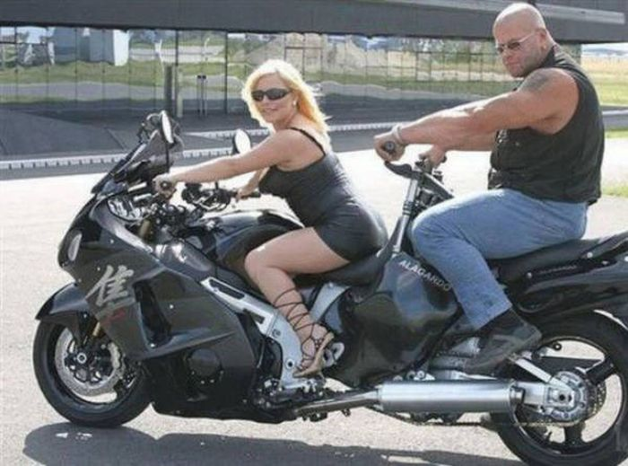 Hot Girls Who Want To Take You For A Ride (42 pics)