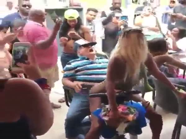 No Age Can Stop You From Enjoying A Good Lap Dance
