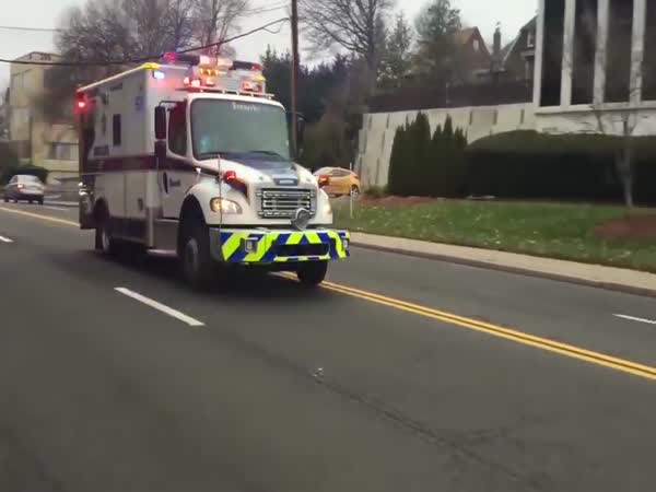 The Final Countdown Ambulance