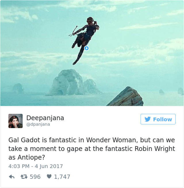 Twitter Just Can't Stop Gushing Over The New Wonder Woman Movie (49 pics)